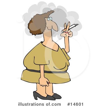 Royalty-Free (RF) Cigarette Clipart Illustration #14601 by djart