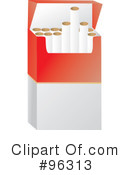 Cigarettes Clipart #96313 by Rasmussen Images