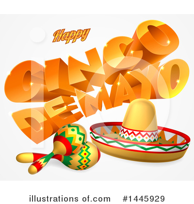 Maracas Clipart #1445929 by AtStockIllustration