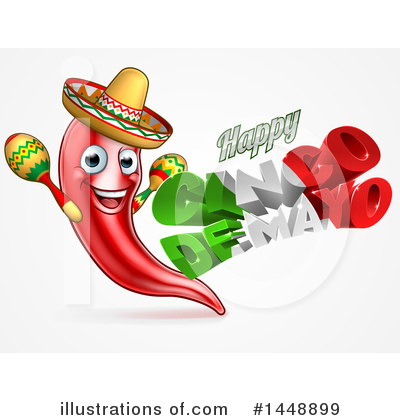 Mexican Clipart #1448899 by AtStockIllustration