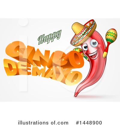 Mexican Clipart #1448900 by AtStockIllustration