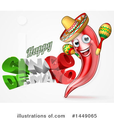 Mexican Clipart #1449065 by AtStockIllustration