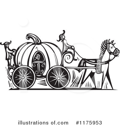 Royalty-Free (RF) Cinderella Clipart Illustration by xunantunich - Stock Sample #1175953