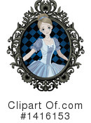 Royalty-Free (RF) Cinderella Clipart Illustration #1416153
