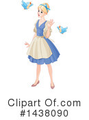Royalty-Free (RF) Cinderella Clipart Illustration #1438090