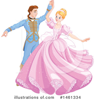 Cinderella Clipart #1461334 by Pushkin