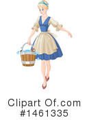 Royalty-Free (RF) Cinderella Clipart Illustration #1461335