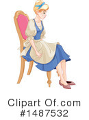 Royalty-Free (RF) Cinderella Clipart Illustration #1487532