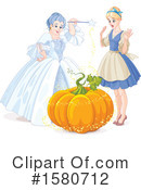 Cinderella Clipart #1580712 by Pushkin