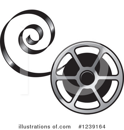 Movies Clipart #1239164 by Lal Perera
