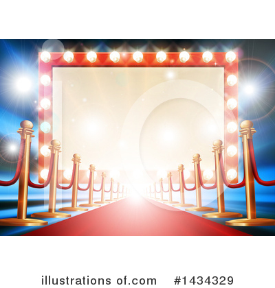 Red Carpet Clipart #1434329 by AtStockIllustration