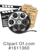 Cinema Clipart #1611360 by Vector Tradition SM