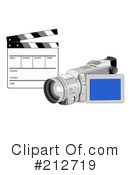 Royalty-Free (RF) cinematography Clipart Illustration #212719