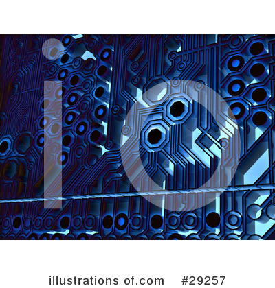 Circuit Board Clipart #29257 by Tonis Pan
