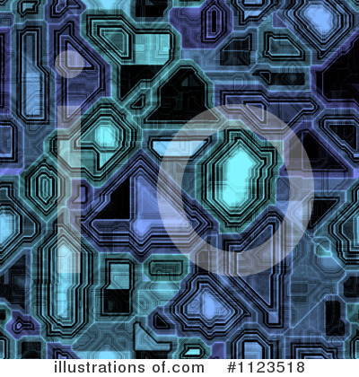 Royalty-Free (RF) Circuitry Clipart Illustration by Ralf61 - Stock Sample #1123518