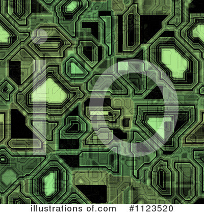 Royalty-Free (RF) Circuitry Clipart Illustration by Ralf61 - Stock Sample #1123520