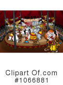 Royalty-Free (RF) Circus Clipart Illustration #1066881