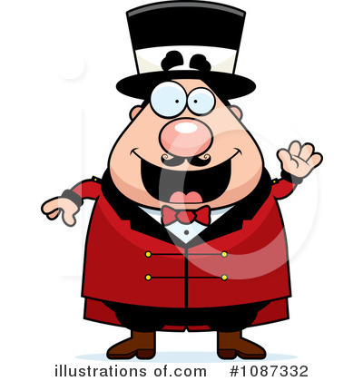 Ringmaster Clipart #1087332 by Cory Thoman