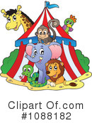 Royalty-Free (RF) Circus Clipart Illustration #1088182