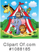 Royalty-Free (RF) Circus Clipart Illustration #1088185