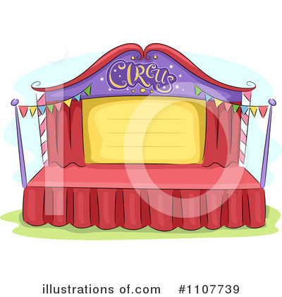 Circus Clipart #1107739 by BNP Design Studio