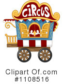 Royalty-Free (RF) Circus Clipart Illustration #1108516