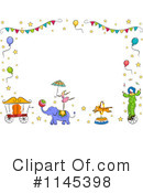 Royalty-Free (RF) Circus Clipart Illustration #1145398