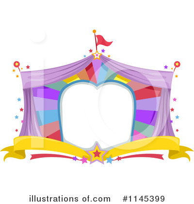Circus Clipart #1145399 by BNP Design Studio