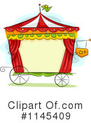 Royalty-Free (RF) circus Clipart Illustration #1145409