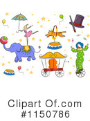 Royalty-Free (RF) Circus Clipart Illustration #1150786