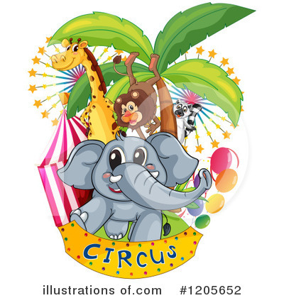 Elephant Clipart #1205652 by Graphics RF