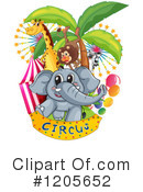 Circus Clipart #1205652 by Graphics RF