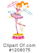 Royalty-Free (RF) Circus Clipart Illustration #1208075