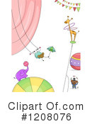 Circus Clipart #1208076 by BNP Design Studio