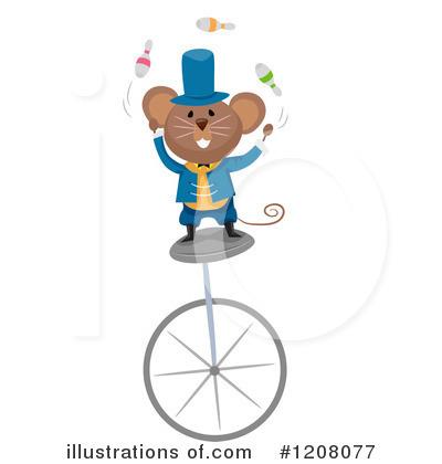 Mouse Clipart #1208077 by BNP Design Studio