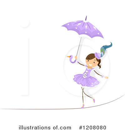 Circus Act Clipart #1208080 by BNP Design Studio