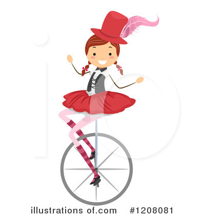 Circus Act Clipart #1208081 by BNP Design Studio