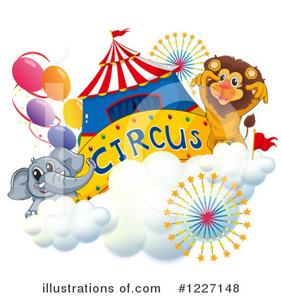 Elephant Clipart #1227148 by Graphics RF