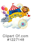 Royalty-Free (RF) Circus Clipart Illustration #1227148