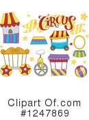 Royalty-Free (RF) Circus Clipart Illustration #1247869