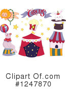 Royalty-Free (RF) Circus Clipart Illustration #1247870