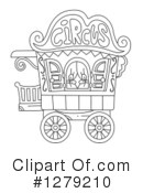 Royalty-Free (RF) Circus Clipart Illustration #1279210