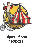 Circus Clipart #1695211 by Vector Tradition SM