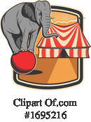 Circus Clipart #1695216 by Vector Tradition SM