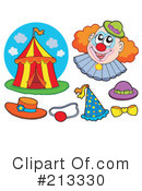 Royalty-Free (RF) Circus Clipart Illustration #213330