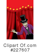 Royalty-Free (RF) Circus Clipart Illustration #227607