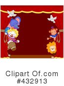 Royalty-Free (RF) Circus Clipart Illustration #432913