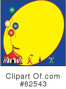 Circus Clipart #62543 by Pams Clipart