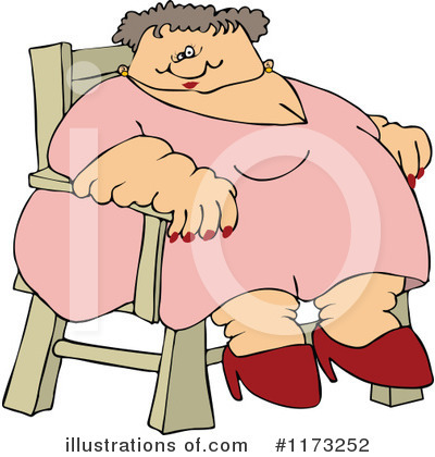 Fat Lady Clipart #1173252 by djart