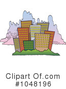 City Clipart #1048196 by toonaday